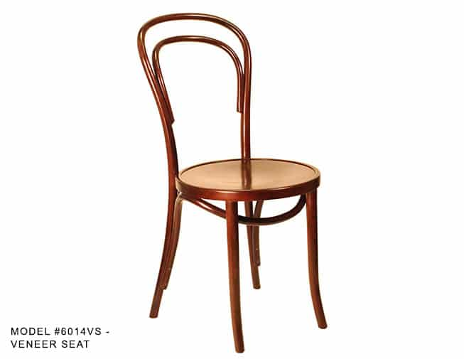 Traditional Bentwood Thonet Chair Model 6014