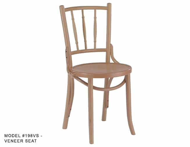 Traditional Bentwood Spindle Back Parlor Chair Model 198
