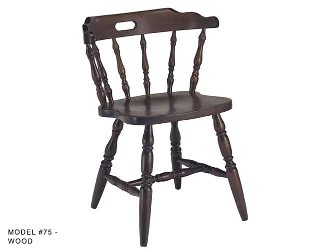 Awesome Colonial Mates Spindle Back Chair Model 75 Restaurant Evergreenethics Interior Chair Design Evergreenethicsorg