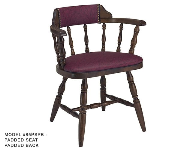 Colonial Captains Spindle Back Chair Model 85