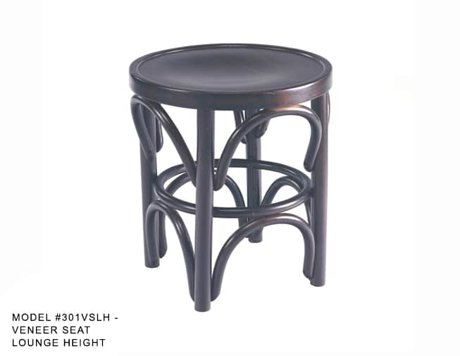 Traditional Bentwood Backless Stool Model 301