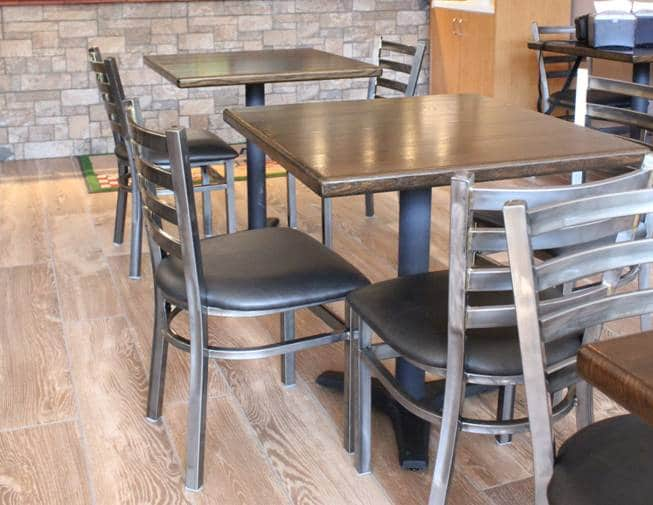 Heavy Duty Ladder Back Chair – Model 742 – Restaurant Chairs ...