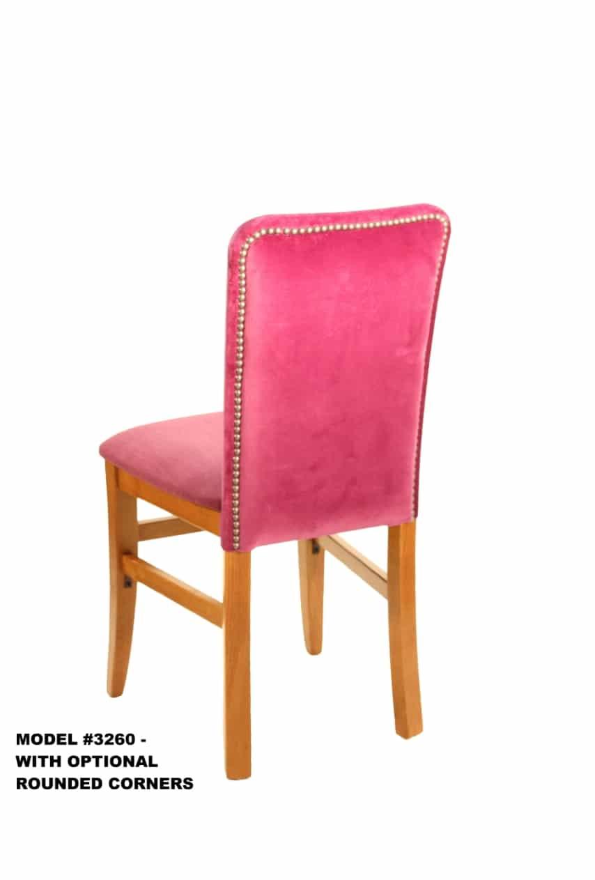 Heavy Duty Upholstered Steak House Chair Model 3260