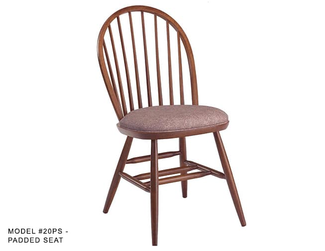 Restaurant Furniture Windsor Ontario : Colonial windsor chair with spindle back model