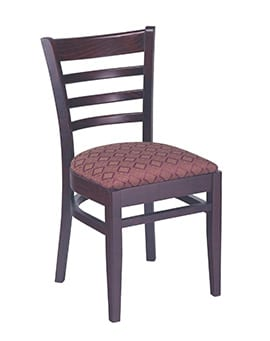 Heavy Duty Ladder Back Chair U2013 Model 340 U2013 Restaurant Chairs By M. Deitz  And Sons, Inc.
